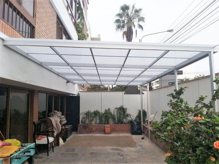 M s de 25 ideas incre bles sobre techo policarbonato en for Toldos y cerramientos para patios