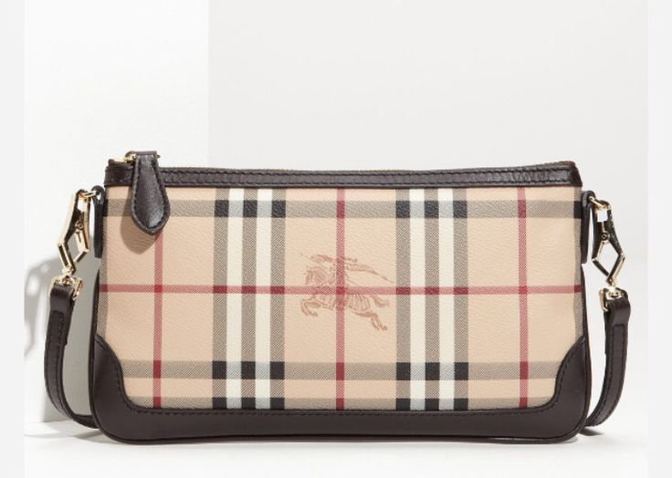 Burberry Haymarket Check Crosbody