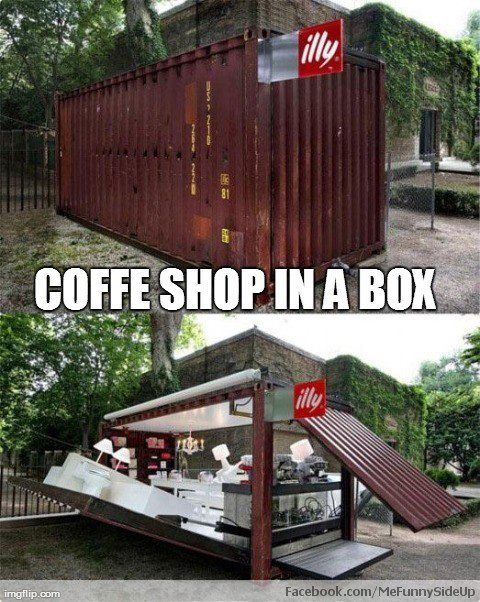 Coffee Shop in a box