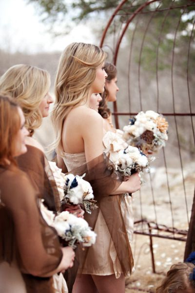 cotton bouquet | Winter cotton wedding | Nozze di cotone http://theproposalwedding.blogspot.it/ #cotton #wedding #winter #matrimonio #cotone #inverno