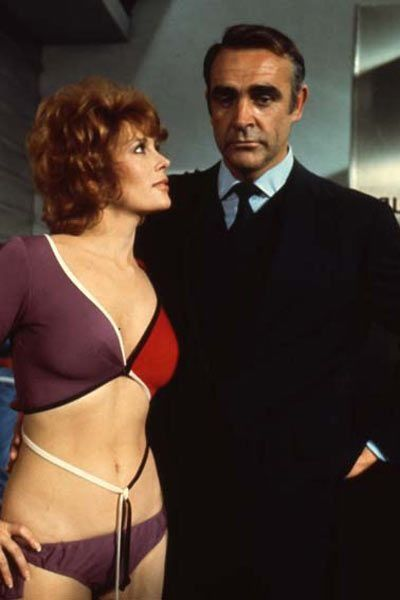 70s Bond Girls: Jill St. John as Tiffany Case - Diamonds Are Forever (1971)