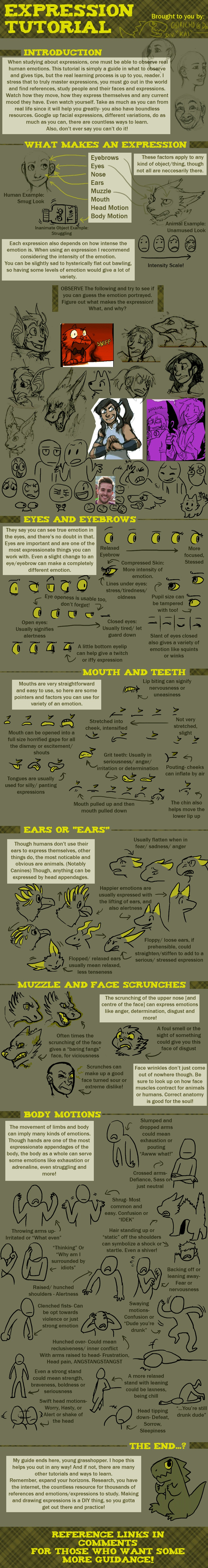 --+ EXPRESSIONS TUTORIAL by *Chiricho