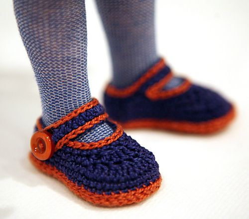 17 Best images about Dolls Shoes Crochet & Knit on ...