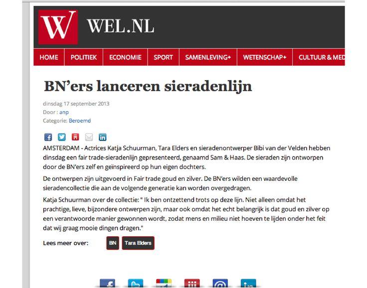 WEL.nl September 2013 - Sam&Haas