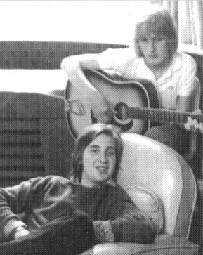 Anthony Philips and Mike Rutherford