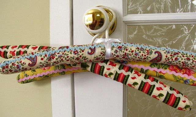 Fabric Covered Hangers | GoldenFingers