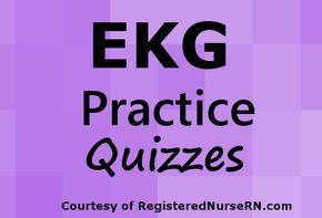 EKG Rhythm Practice Quiz for Atrial Fibrillation & Atrial Flutter