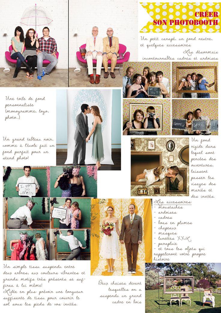des idees pour creer un photobooth la mariee aux pieds nus party ideas photo booth. Black Bedroom Furniture Sets. Home Design Ideas