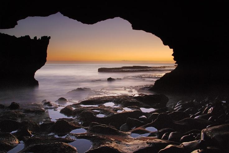 Waenhuiskrans cave in Arniston