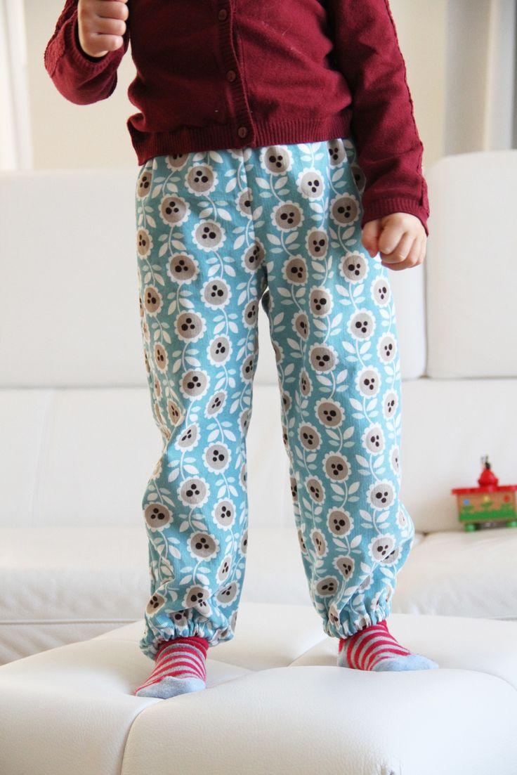 Dětské manšestrové kalhoty / Kids manchester trousers