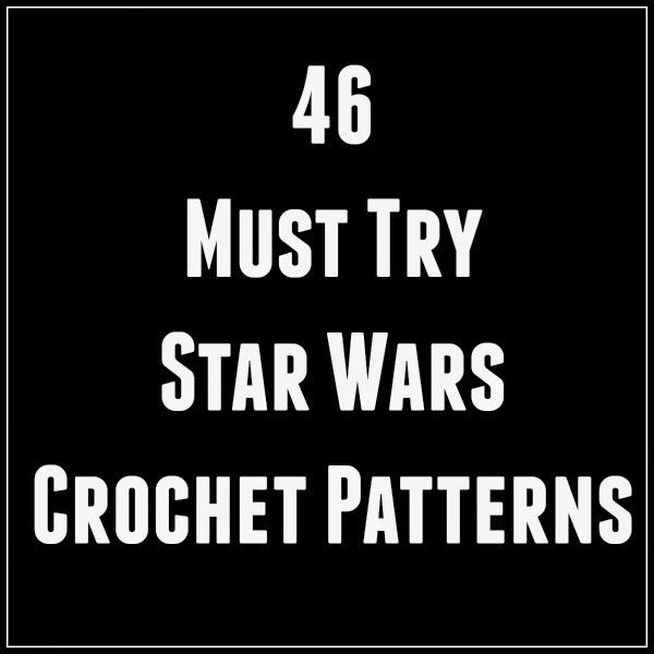 Star Wars Crochet Patterns, anyone? I love all of the crochet hats and amigurumi and blanket ideas for Force Awakens fans!