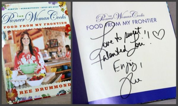 Would love this Cookbook from The Pioneer Woman!