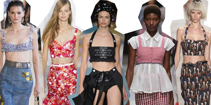 Tendenze moda primavera estate 2017: reggiseno a vista