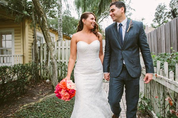 Southern Wedding With a Cuban Flair