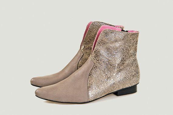 Schoenen van vrouwen vrouwen boots laarzen laarsjes grijze