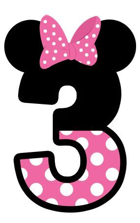 MINNIE MOUSE # 3 CLIP ART