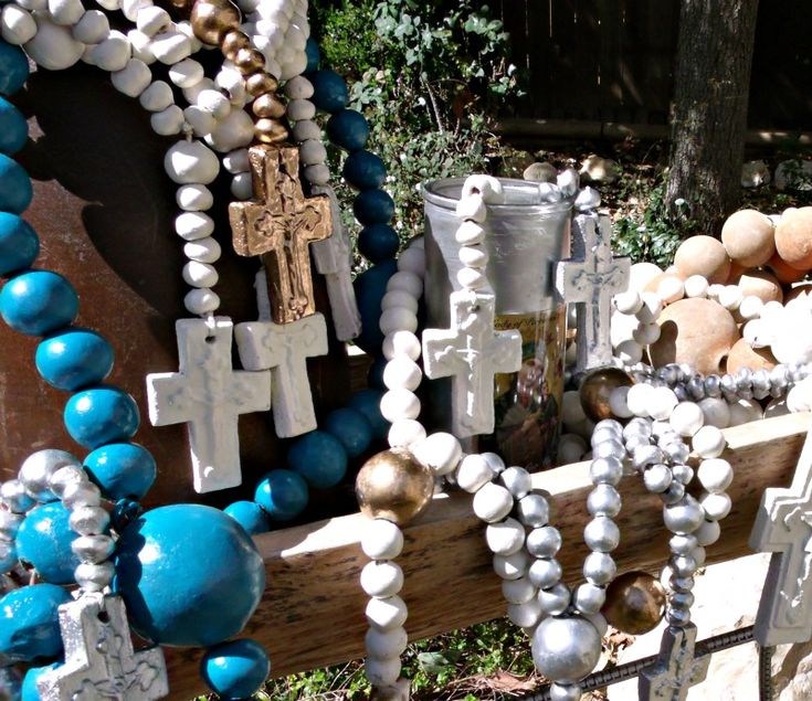 Authentic Mexican Clay Rosary Beads from RELEK on etsy www ...