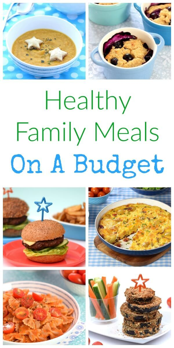 Recipes and Tips for healthy family meals on a budget - feed your family healthy food for less - Eats Amazing UK