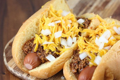 Southern Style Red Hot Dog Chili