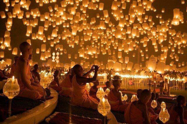 Lantern to heaven