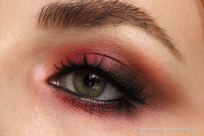 Красные глаза в осени 2016. Пошаговый урок макияжа с палеткой Lime Crime Venus