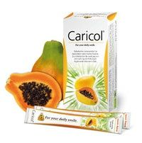 CARICOL dawny NOVIPAYE - skoncentrowany mus z owocu papai - opakowanie 20 saszetek