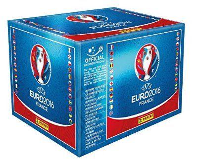 Euro Cup France 2016 PANINI Sticker Box - 50 Packs