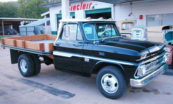 1965 Chevy C30 Flatbed dually
