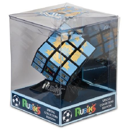 n/a Manchester City Rubiks Cube PLG3645 Manchester City Rubicks CubeTry tackling the worlds best selling puzzle with this Manchester City Edition of the Rubiks® cube.Thiscube features the official Manchester City logo in both single image http://www.MightGet.com/february-2017-2/n-a-manchester-city-rubiks-cube-plg3645.asp