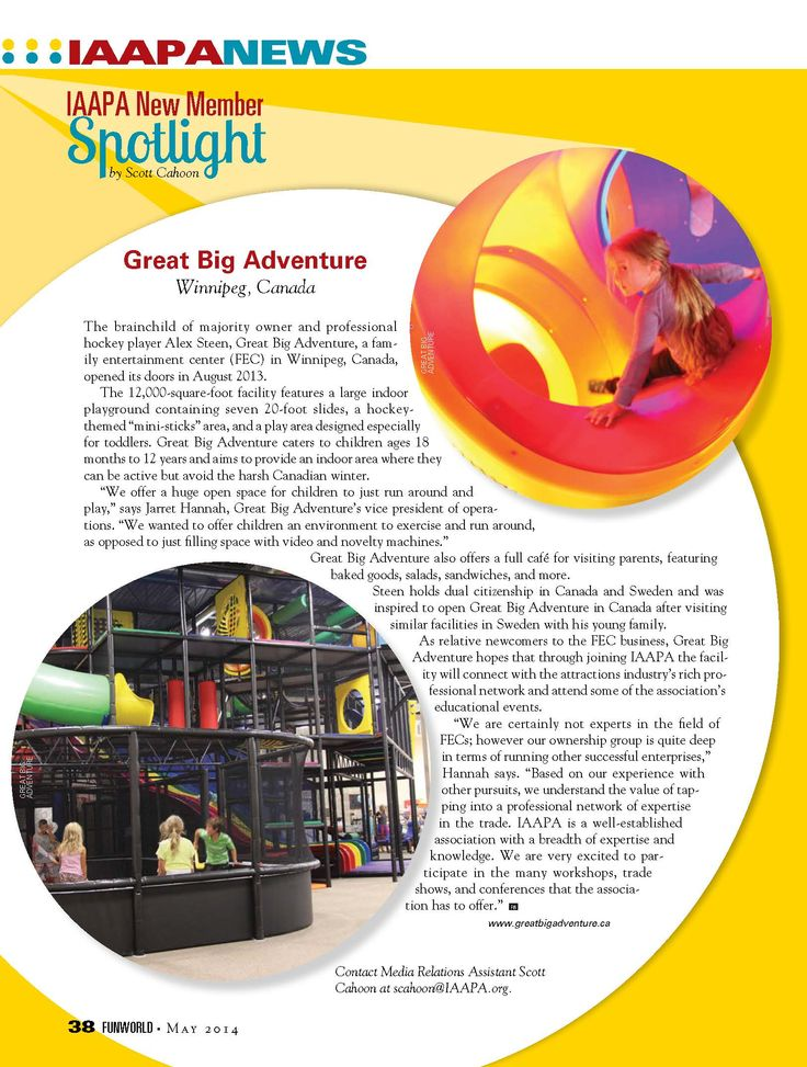 International Play Company designed, manufactured and installed the indoor play structures for Great Big Adventure in Winnipeg, Manitoba, Canada. contact us at:  sales@iplayco.com or www.iplayco.com for more information #weBUILDfun #weEXPORTfun
