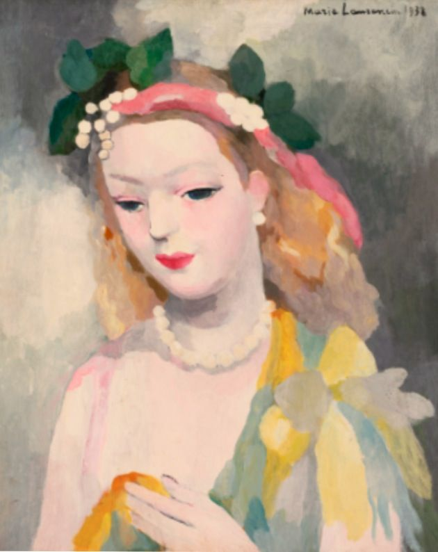 Marie Laurencin's Painting #art #paintings