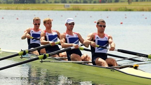 Teab GB - Chris Bartley, Richard Chambers, Rob Williams and Peter Chambers won a silver medal.