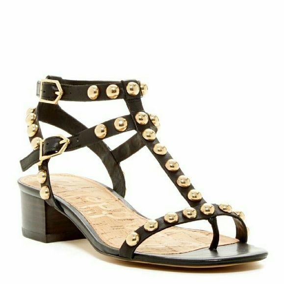 Sam Edelman Studded Gladiator Sandal Brand New In Box Sam