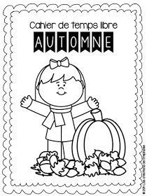 Les créations de Stéphanie: Cahier de temps libre : L'automne