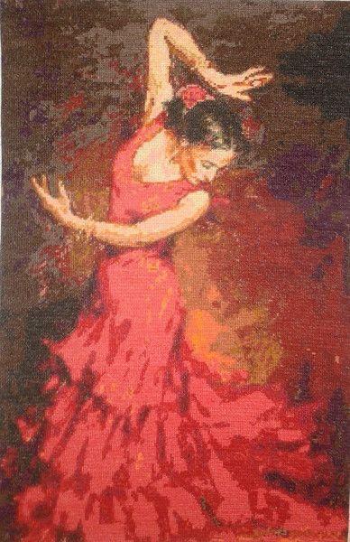 Ognisty taniec - Joanna-136 - Dekoracje