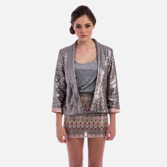 Metallic Matters - Saturday Night Sequin Jacket