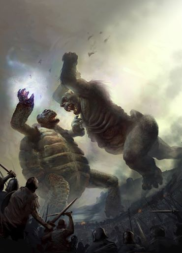 giant turtle vs giant gorilla which one will win this