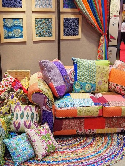 17 best images about boho on pinterest bohemian decor for Patchwork couch