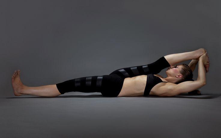 Спортивная девушка гимнастика 004 4 Размеры Шелковые Ткани Холст Печати Плакатов