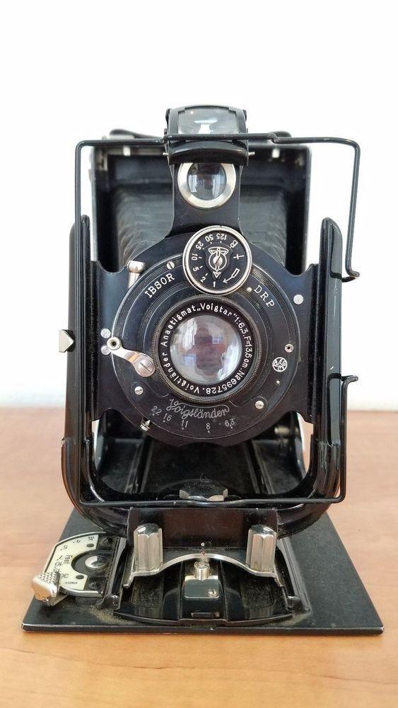 Vintage Voigtlander IBSOR DRP Folding Camera