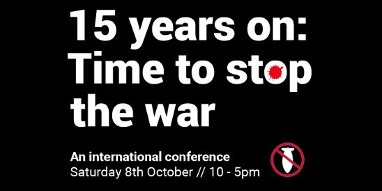 Stop the War Conference: More Western Bombs Won't Help Syria