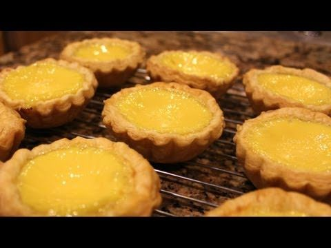 Chinese Egg Tart (Very Flaky Puff Pastry!) - YouTube
