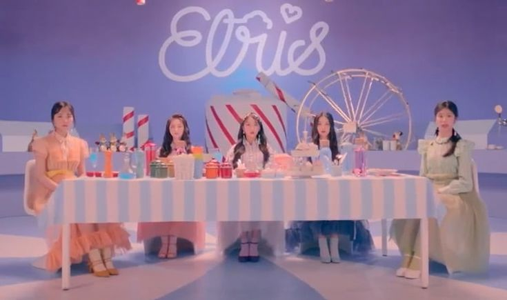 "Watch: Girl Group ELRIS Makes Whimsical Debut With ""WE,first"" MV 