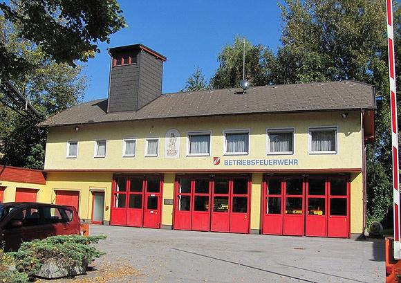 Betriebsfeuerwehr M-real Hallein, Österreich
