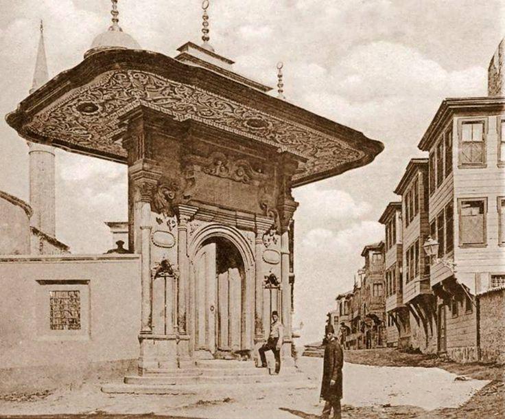 Ayasofya Bâb-ı Humâyunü; Soğukçeşme