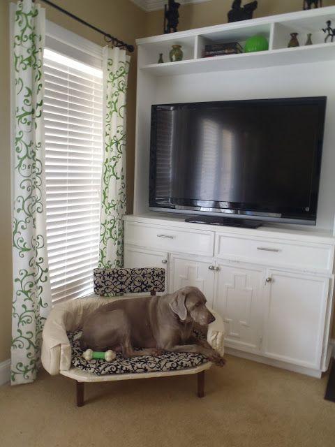 lazy liz on less elevated dog bed - Elevated Dog Beds