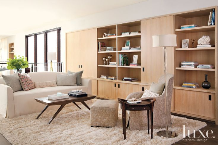 Master suite library luxe libraries pinterest for Office shag