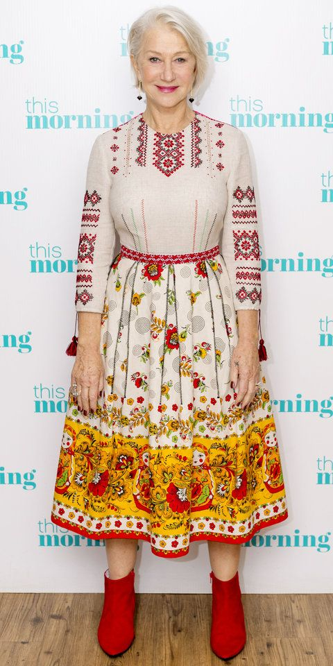 InStyle's Look of the Day picks for January 25, 2018 include Helen Mirren, Kate Middleton and Kourtney Kardashian.