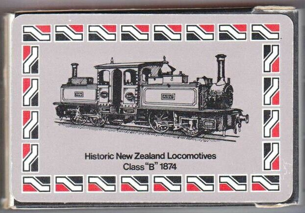 New Zealand Railways Playing Cards