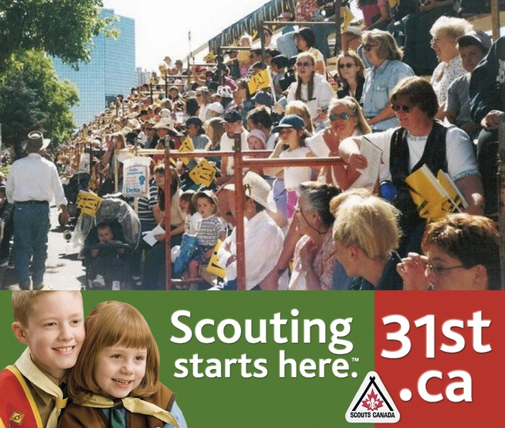 HURRY! Get your July 5th 2013 CALGARY STAMPEDE PARADE BLEACHER SEAT TICKETS Now from 31st Scouts - ORDER DEADLINE JUNE 8 - $30 ea. includes GST, agency fees extra - INFO & ORDER PAGE: www.31st.ca/sps/